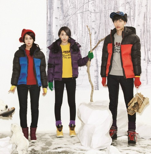 KARA 바탕화면 with an igloo entitled Seung yeon & Jiyoung & Lee Min Ki for Onionbay