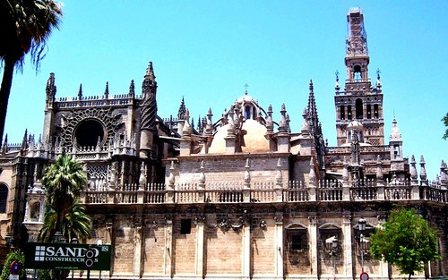Seville Cathedral - spain Wallpaper