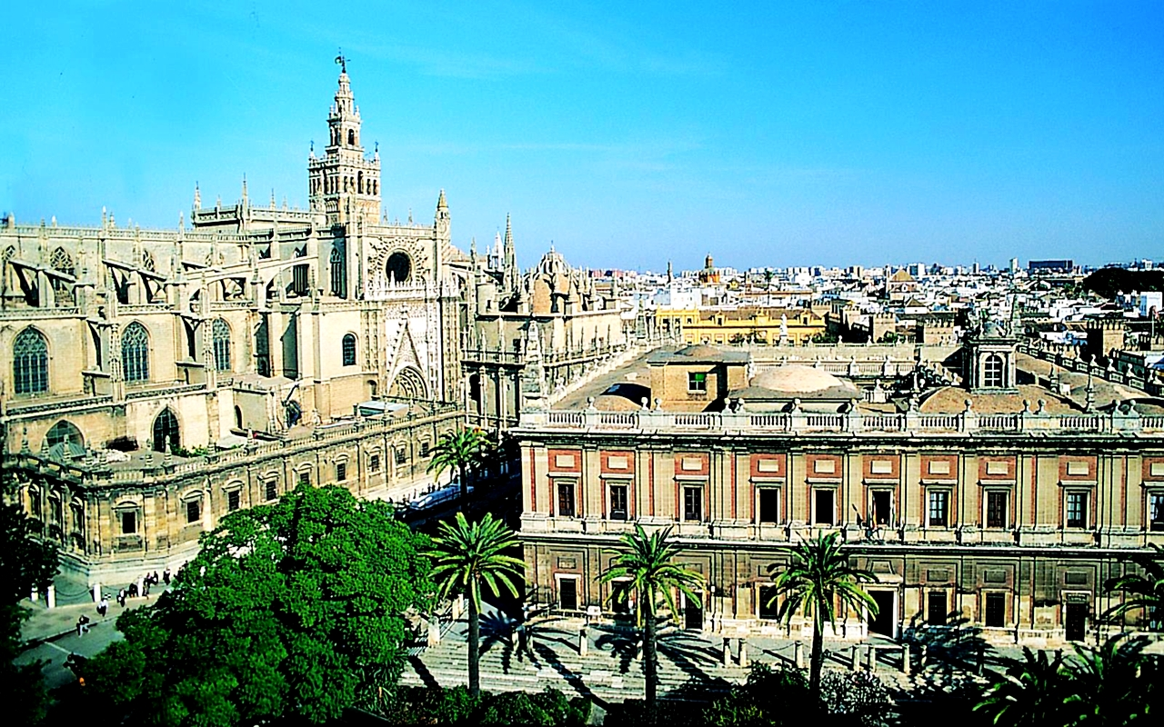 Seville Spain  City pictures : Spain images Seville Cathedral HD wallpaper and background photos ...