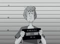 Shaggy's Mugshot - scooby-doo photo