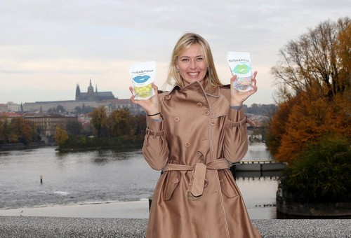 Sharapova in Prague