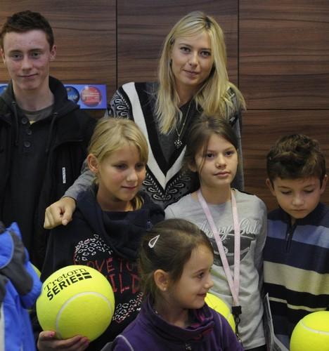 Sharapova in Prague