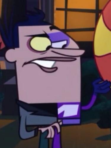 "Sidekick: Trevor Troublemeyer as ""Xoxum Man"""