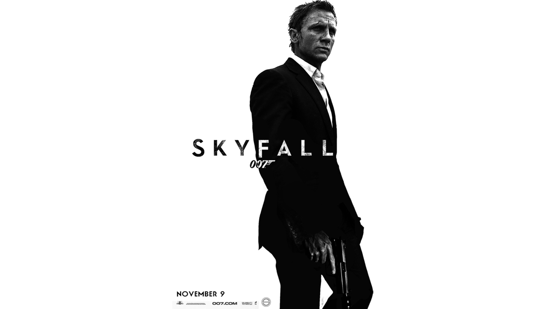 Skyfall James Bond Обои