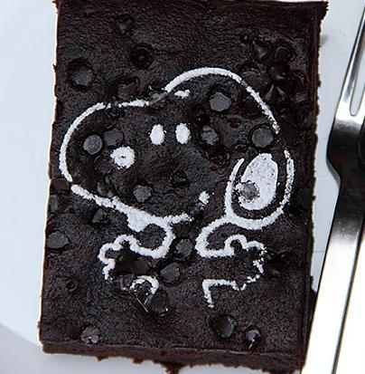 Snoopy brownie