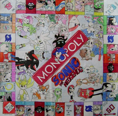 Sonic the Hedgehog Monopoly
