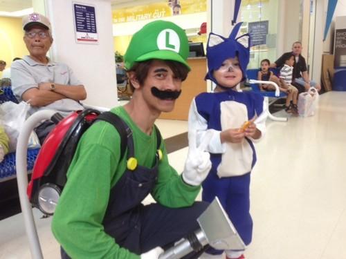 Sorry Mario, Luigi and Sonic are Pizanos!