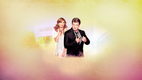 Nathan Fillion & Stana Katic fond d'écran possibly containing a concert and a fontaine titled StaNathan