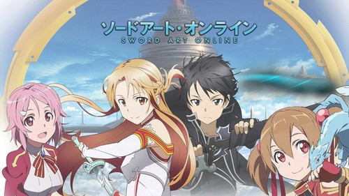 《刀剑神域》 壁纸 containing 日本动漫 entitled Sword art online