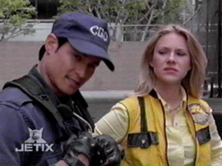 The Power Rangers wallpaper containing a green beret called Taylor and Eric