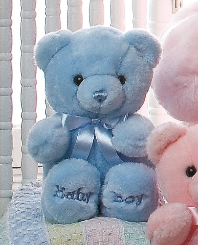 Teddy ours (blue)