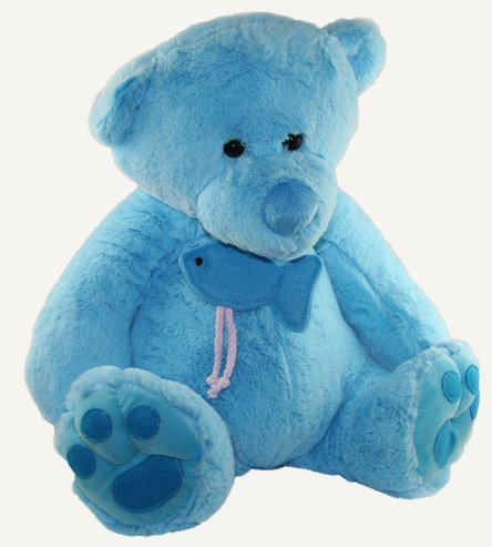 Teddy oso, oso de (blue)