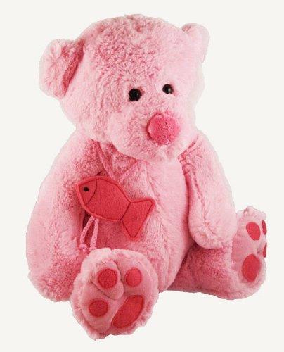 Teddy menanggung, bear (pink)