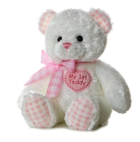 Teddy bear pink stuffed animals photo