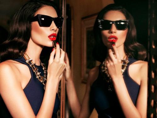 Teresa Moore Red Lipstick