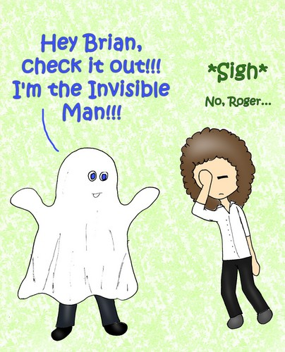 The Invisible Man?