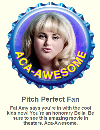 The Pitch Perfect fan gorra, cap