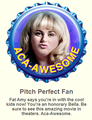 The Pitch Perfect fan topi