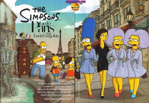 The Simpsons go to Paris
