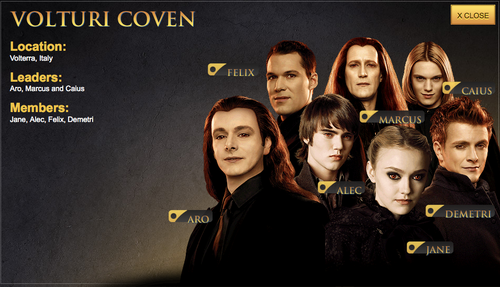 Twilight Character Profiles Volturi Character Profile