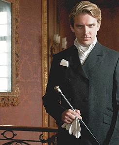 The men of Downton