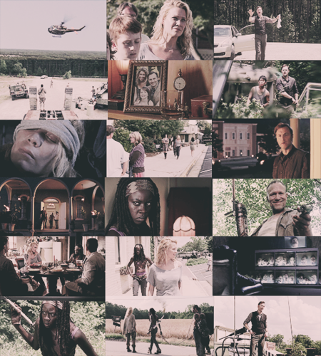 "The walking dead 3x03 ""walk with me"""