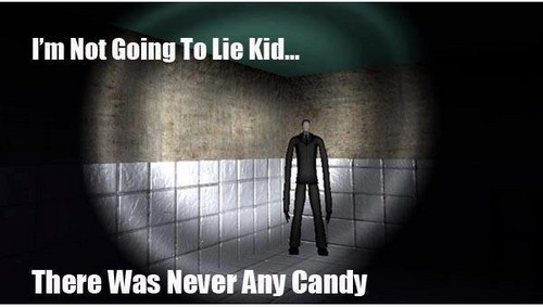 There Never Was Any Candy