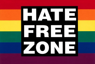 This is a Hate Free Zone.