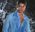 Tolgahan Sayisman with wet hemd, shirt