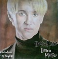 Tom Felton-Draco Malfoy Harry Potter Drawing - tom-felton fan art