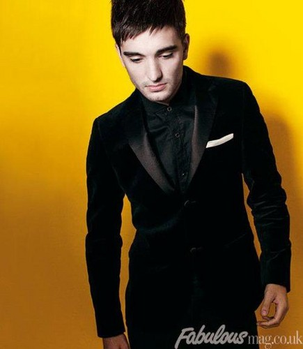 Tom Parker Fabulous mag.co.uk