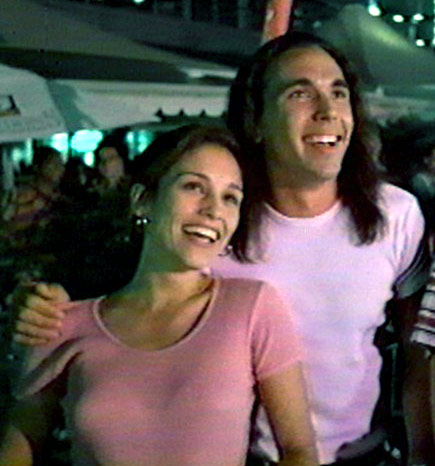 超级战队 壁纸 called Tommy Oliver and Kimberly Hart.