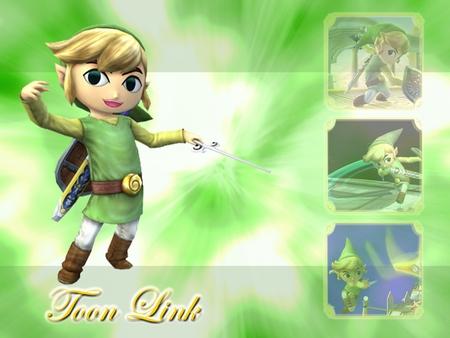 Toon Link fondo de pantalla