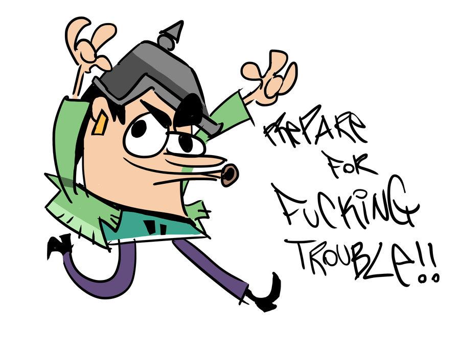 Trevor Trouble-fuckin'-meyer!