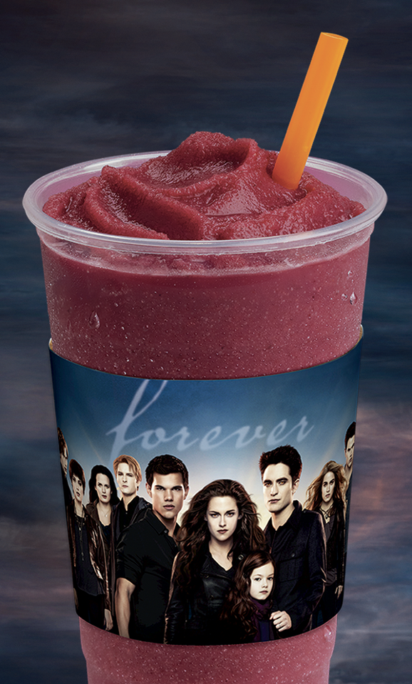 Twilight //Berry Bitten(tm) smoothie, batido