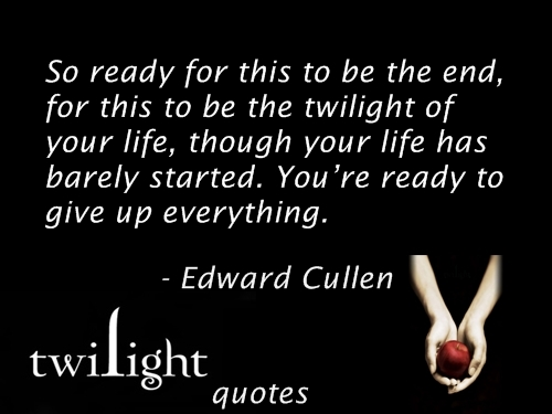 quotes from the twilight saga - photo #20