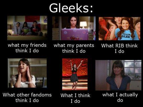 Us Gleeks...