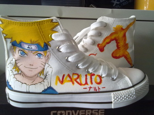 Uzumaki converse shoes