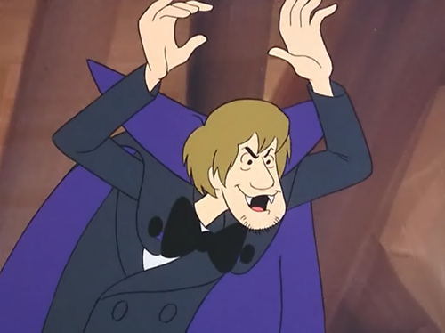 Scooby-Doo achtergrond with anime titled Vampire Shaggy