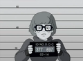 Velma's Mugshot - scooby-doo photo