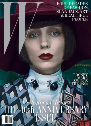 Rooney Mara Wallpaper Entitled W Magazine Cover