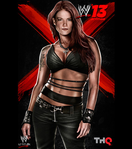 "Amy ""Lita"" Dumas wallpaper containing a hip boot, a legging, and tights called WWE '13 - Lita"