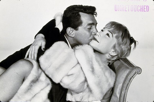Dean Martin 바탕화면 containing a 모피 코트 entitled With Shirley MacLaine