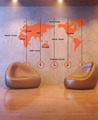World Map Wall Sticker - home-decorating photo