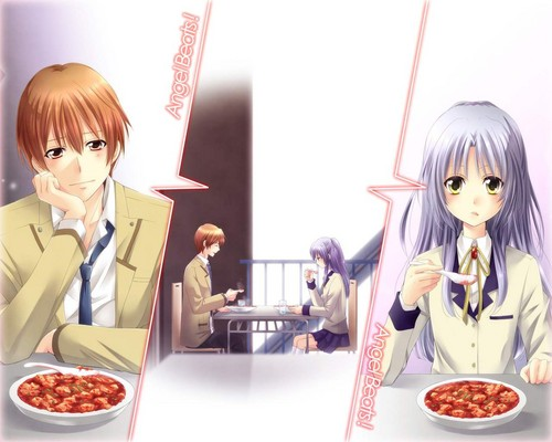 Yuzuru and Kanade