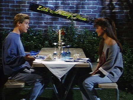 saved by the bell zack and kelly start dating 7 'saved by the bell' plots that prove zack is  some lockers and kelly bumps her head kelly, zack's girlfriend who he  saved by the bell was originally .