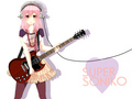 animé guitare girl
