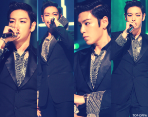 Choi Seung Hyun wallpaper containing a business suit, a suit, and a three piece suit titled aw so cute hehe
