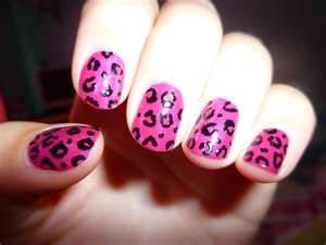 cheetah nails!!