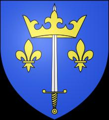 コート of arms of Jeanne d`Arc